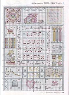 Gallery.ru / Фото #44 - The world of cross stitching 146 - tymannost