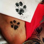 This almost made me cry. That is one tattoo I would not hesitate getting, just wish I had gotten a paw print