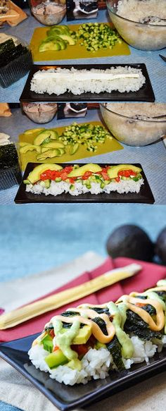 """Lea's Cooking: """"Lazy Sushi"""""""
