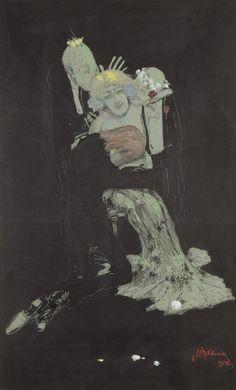 Wojtkiewicz Sceny miłosne 1904