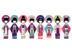 Image result for paperchain art dolls