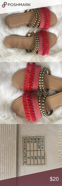 Summer sandals Excellent condition! Worn only once! Forever 21 Shoes Sandals