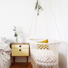 4 more weeks✨ in August we will have new stock of this beautiful #hanging #bassinet  Pre-order yours now! Send a email to info@rockthatlabel.nl  #baby #bebe #cradle #babyswing #nursery #pregnant #mommy #mother #parents #kids #newborn #interior #sleepy #macrame #handmade #exclusive #rockthatlabel