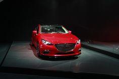 Beauty in Red, 2014 Mazda 3S @KarFarm #LAAutoShow #Mazda #KarFarm