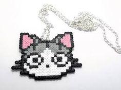 Resultado de imagen de gato hama beads