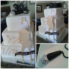 Mariah Carey theme cake | Flickr - Photo Sharing!