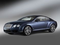 Bentley Continental GT Diamond Series a blast from the past of 2006.