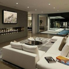 Purchasing Home Living Room Design Fresh in Classic Designs for Brilliant JSDLANU - homehomee Home Room Design, Dream Home Design, Modern House Design, Interior Design Living Room, Living Room Designs, Living Room Modern, Home Living Room, Living Room Decor, Living Area