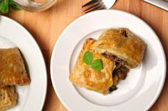 Curried Lamb and Butternut Squash Pockets by Local Savour