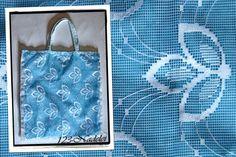 Beutel mit Gardine / Bag with curtain