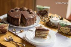Dobošová torta Desserts, Food, Tailgate Desserts, Deserts, Essen, Postres, Meals, Dessert, Yemek