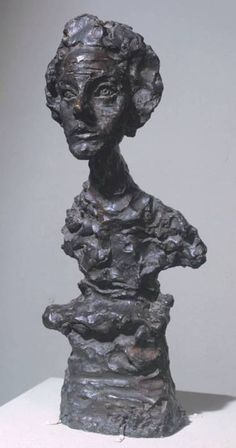 Alberto Giacometti (1901-1966) Annette IV https://www.artexperiencenyc.com/social_login/?utm_source=pinterest_medium=pins_content=pinterest_pins_campaign=pinterest_initial