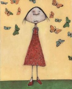 when i was a younger.. #butterflies in my head