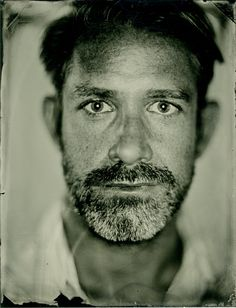 Tintype portrait by Lawrence Garwood, via Flickr