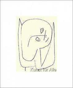 Paul Klee - Engel voller Hoffnung, 1939