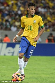~ Neymar on the Brazil National Team wearing the NEW Nike HyperVenom boots ~