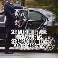 The Secret law Of Attraction Quotes En Espanol, Gentleman Quotes, Secret Law Of Attraction, Millionaire Quotes, Life Motivation, Business Motivation, Steve Jobs, Spanish Quotes, Life Advice