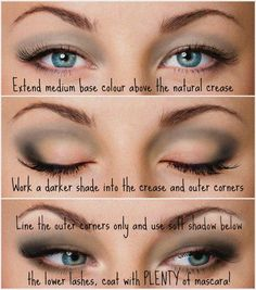 How do you apply eyesahdow to hooded eyes? Read this simple how-to and with illustration:  http://www.sesora.com/hoodwinked/: