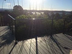 Glass Balustrade framed no bottom Rail Glass Balustrade, Fence, Glass Handrail