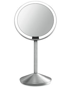 simplehuman Mini Lighted Sensor-Activated Magnifying Vanity Makeup Mirror