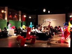 Time Lapse of AIGA Houston's Portfolio Night 2012.