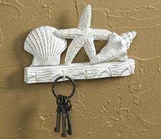 Seashell Key Hook at Oeanstyles.com. Beautiful coastal decor at this website!