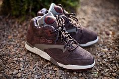 "Reebok Court Victory Pump ""Grizzly"""