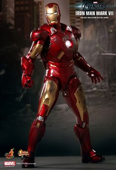 Hot Toys : Iron Man Mark VII (The Avengers) 1/6th scale Limited Edition Collectible Figurine