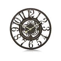 George Home Black Gears Clock | Home & Garden | George at ASDA