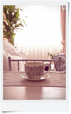 Bright apartment - check, simplicity - check, coffee in a large mug - check.