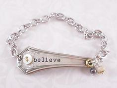 Make into necklace . . . love silverware!