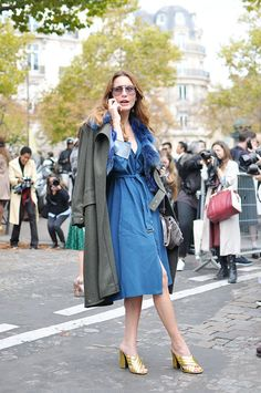Ece Sukan in Blue, Paris