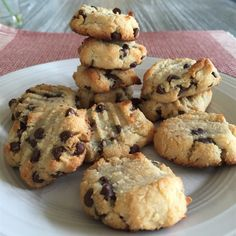 Gluten-free chocolate chip cookies with a taste of coconut!