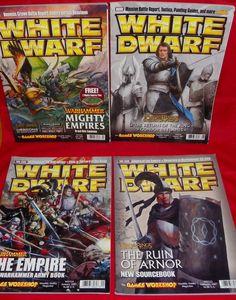 White Dwarf No. 324 No. 325 No. 330 No. 331 Games Workshop Hobby Magazines #WhiteDwarf