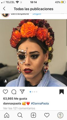 shop of couture jewelry with amazing handmade in france jewels Halloween Inspo, Halloween Outfits, Halloween Make Up, Halloween Face Makeup, Makeup Inspo, Makeup Inspiration, Carnival Inspiration, Mexican Actress, Fantasias Halloween