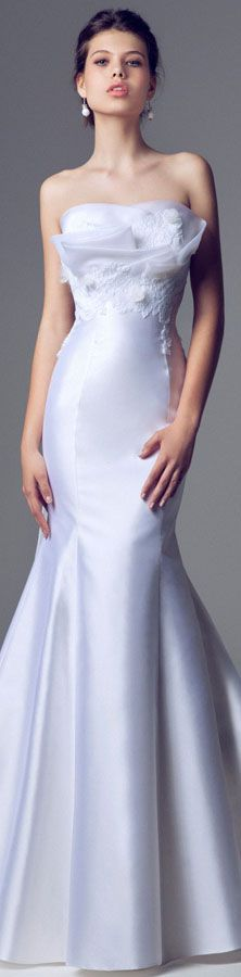 Blumarine Bridal 2014 Wedding dresses #bride #strapless #dress