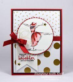 Stampin Up Beautiful You card by Kristi @ www.stampingwithkristi.com