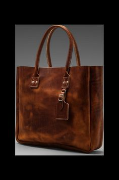 I want this bag but it's out of stock! Billykirk Leather Tote in Tan   REVOLVE