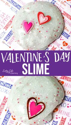 Try this simple Valentine's day slime recipe for some science fun and to celebrate love with your family, it also makes a wonderful gift. My kids love making slime! Kindergarten Science Activities, Homeschool Science Curriculum, Sensory Activities Toddlers, Science Fun, Infant Activities, Elementary Science, Earth Science Lessons, Making Slime, Easy Slime Recipe