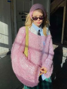 Knit Fashion, Look Fashion, Fashion Outfits, Fashion Trends, Fashion Spring, Looks Style, Style Me, Jeans Boyfriend, Ootd