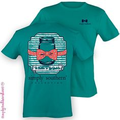 Simply+Southern+Preppy+Bow+Tie+Jar+TShirt+on+by+SimplySouthernTees,+$19.99