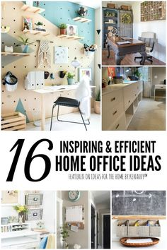 Looking for a brand new way to redecorate your home office? Browse this list of inspiring home office ideas and go shopping!