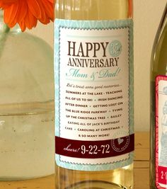 Customized Wine Labels for Gifts