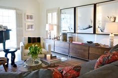 Ooh, that credenza... and that art... and basically the overall feel!