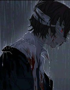 Manga Anime, Gato Anime, Anime Art, Dazai Bungou Stray Dogs, Stray Dogs Anime, Dazai Osamu Anime, Dog Wallpaper, Levi X Eren, Sad Art