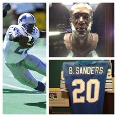 a biography of the life and sports career of barry sanders This a biography about a professional football player for the detroit lions named barry sanders this book contains facts about his life before his professional career.