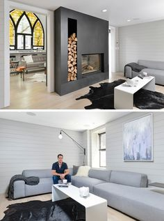 Church Transformed Into Modern Family House in Chicago - iCreatived