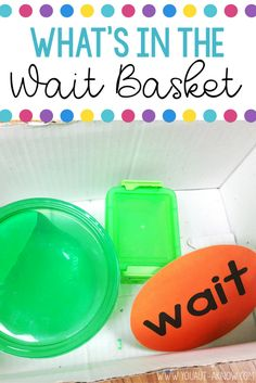 Teaching students to wait can be the thing that nightmares are made of. Create your own Wait Basket to train students to engage in appropriate activities when you need to quickly step away from small group instruction.