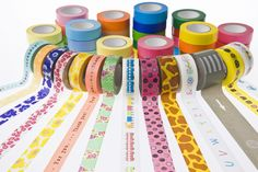 Washi tape is a crafter's dream 1000 years in the making. Learn washi tape history, manufacturing, and how you can snazz up your crafting world. Duct Tape Colors, Diy And Crafts, Paper Crafts, Duck Tape Crafts, Silly Putty, Shrink Art, Diy Notebook, Masking Tape, Washi Tapes