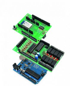 "Today we'll expand Arduino's digital resources thanks to an I2C bus equipped shield and we'll allow the management of the board via a bluetooth connection RN-42 through an Android systems. All Arduino boards feature a number of digital I/Os. For the simplest projects, such resources are usually more than sufficient, but in those where they you need several control lines, ""standard"" I/Os can be less than enough, because some pins are shared with internal resources while others are dedicated…"